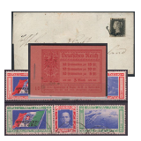 284. Online Auction sale of the unsold lots - Foreign philately and postal history