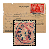 290. Online Auction sale of the unsold lots - Hungarian philately and postal history