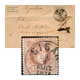 291. Gelaufene Fernauktion - Philatelie und Postgeschichte Ungarn