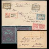 293. Gelaufene Fernauktion - Philatelie und Postgeschichte Ungarn
