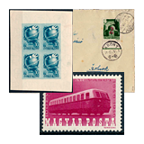 295. Online auction - Hungarian philately and postal history