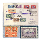 296. Online Auction sale of the unsold lots - Hungarian philately and postal history