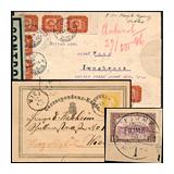 297. Gelaufene Fernauktion - Philatelie und Postgeschichte Ungarn