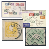 302. Online Auction sale of the unsold lots - Hungarian philately and postal history