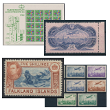 302. Online Auction sale of the unsold lots - Foreign philately and postal history