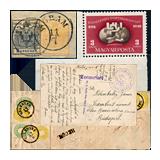 303. Gelaufene Fernauktion - Philatelie und Postgeschichte Ungarn