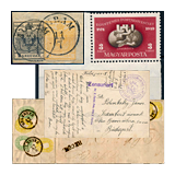 303. Closed Online auction - Hungarian philately and postal history