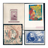 306. Online Auction sale of the unsold lots - Selected items and collections from the auction