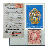310. Online Auction sale of the unsold lots - Hungarian philately and postal history
