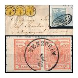 311. Gelaufene Fernauktion - Philatelie und Postgeschichte Ungarn