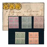 315. Gelaufene Fernauktion - Philatelie und Postgeschichte Ungarn