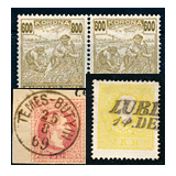 318. Online auction - Hungarian philately and postal history