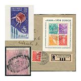 322. Gyorsárverés maradékeladás - Külföldi filatélia és postatörténet