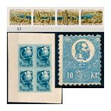 325. Gelaufene Fernauktion - Philatelie und Postgeschichte Ungarn