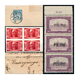 338. Online auction - Hungarian philately and postal history