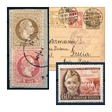341. Lezárult gyorsárverés - Kiemelt magyar filatélia tételek és gyűjtemények