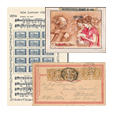 344. Closed Online auction - Foreign philately and postal history