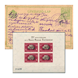 345. Gelaufene Fernauktion - Philatelie und Postgeschichte Ungarn