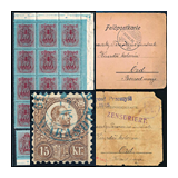 346. Online Auction sale of the unsold lots - Hungarian philately and postal history
