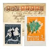 346. Gyorsárverés maradékeladás - Kiemelt magyar filatélia tételek és gyűjtemények
