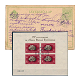348. Closed Online auction - Hungarian philately and postal history