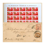 350. Online Auction sale of the unsold lots - Hungarian philately and postal history