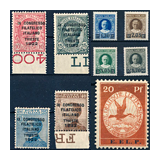 350. Online Auction sale of the unsold lots - Foreign philately and postal history