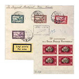 351. Online auction - Hungarian philately and postal history