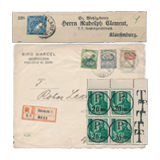 362. Online Auction sale of the unsold lots - Hungarian philately and postal history