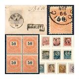 362. Gyorsárverés maradékeladás - Kiemelt magyar filatélia tételek és gyűjtemények