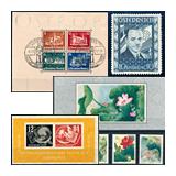 367. Gyorsárverés maradékeladás - Kiemelt külföldi filatélia tételek és gyűjtemények