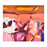377. Gelaufene Fernauktion - Gemälde und Grafiken