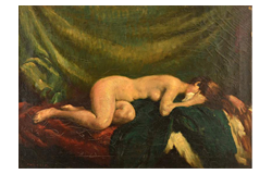 391. Gelaufene Fernauktion - Gemälde und Grafiken