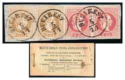 397. Online auction - Hungarian philately and postal history