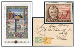 402. Online Auction sale of the unsold lots - Selected Hungarian items and collections