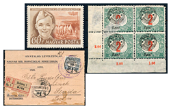 404. Online auction - Hungarian philately and postal history