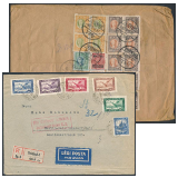 26. Rücklosliste der Grossauktion - Philatelische Briefe Ungarn und Welt und Lose und Sammlungen