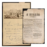 26. Major Auction sale of the unsold lots - Documents from the Hungarian Revolution of 1848-1849