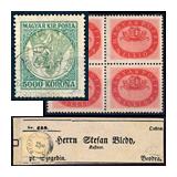 31. Gelaufene Gross-Auktion - Philatelie und Postgeschichte Ungarn