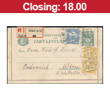 34. Major auction - Hungarian philately and postal history - Online