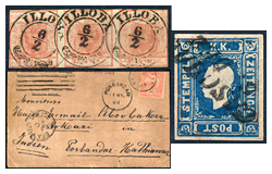 36. Major auction - Hungarian philately and postal history - Online