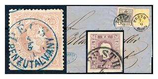 100. Gelaufene Fixpreisangebot - Österreichisch Post in Ungarn und Ungarn Klassik
