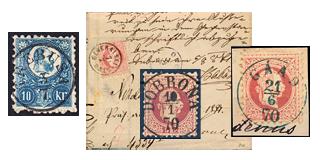28. Gelaufene Fixpreisangebot - Die Klassischen Poststempel von Ungarn