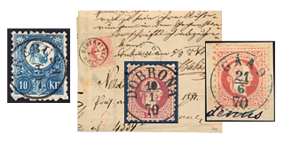 28. Fixed price sale - Classic Postmarks of Hungary