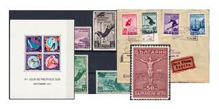 30. Ajánlatunk - Sport és olimpia motívum bélyegek