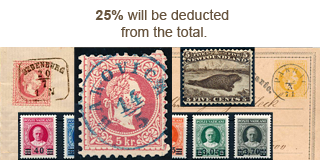 60. Closed Fixed price sale - 25% Autumn Stamp discount!