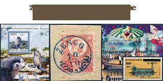 65. Gelaufene Fixpreisangebot - Winter Sale, 25 % Rabatt auf Briefmarken!
