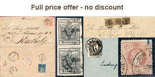 74. Closed Fixed price sale - Austria used in Hungary and the first Hungarian issues
