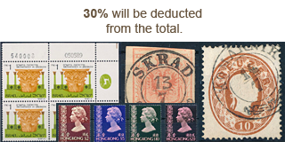 85. Closed Fixed price sale - 30% Autumn Stamp discount!