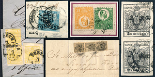 86. Closed Fixed price sale - Austria used in Hungary and the first Hungarian issues